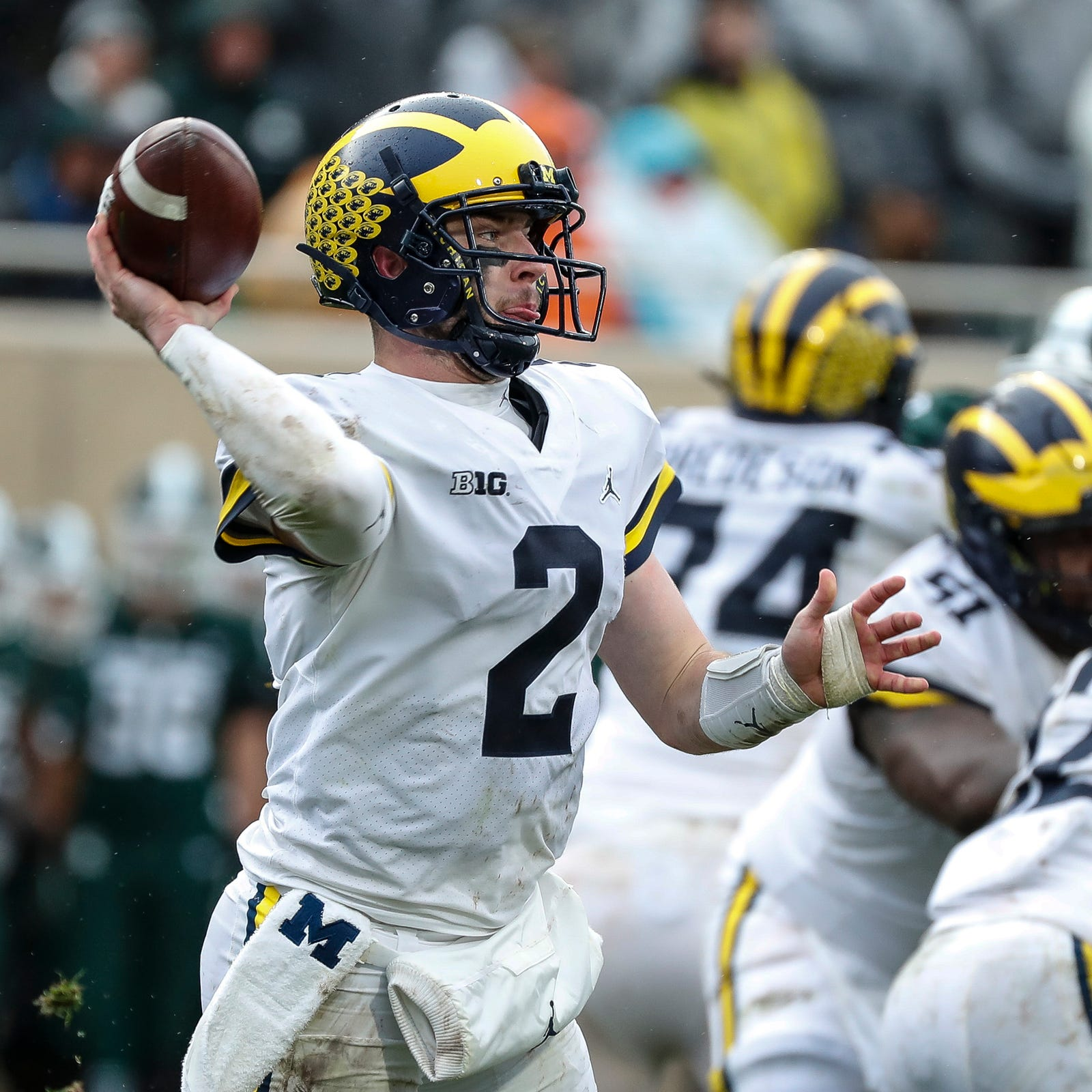 Michigan football's QB situation as strong as Jim Harbaugh has had