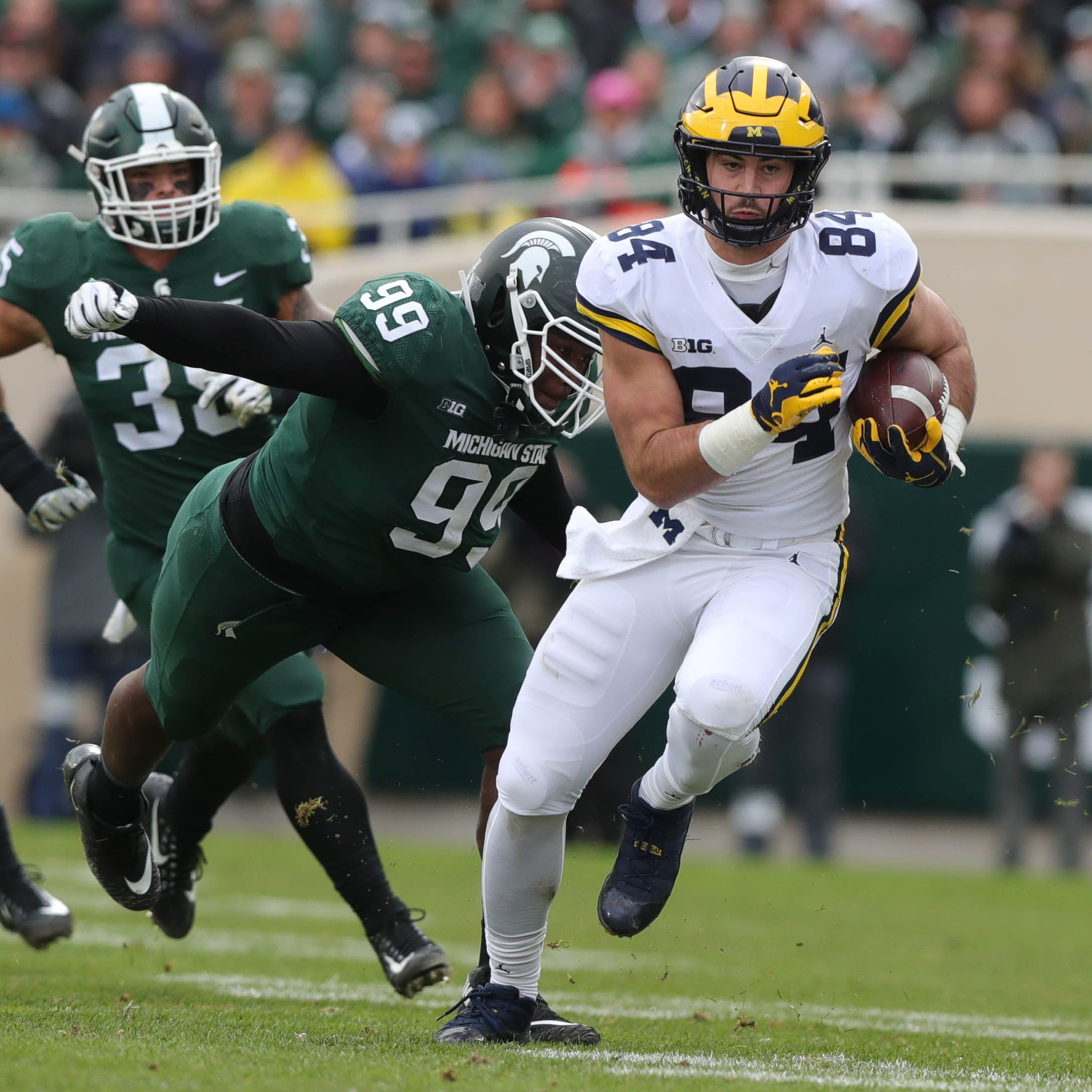 Michigan football beats Michigan State, 21-7: Blog recap