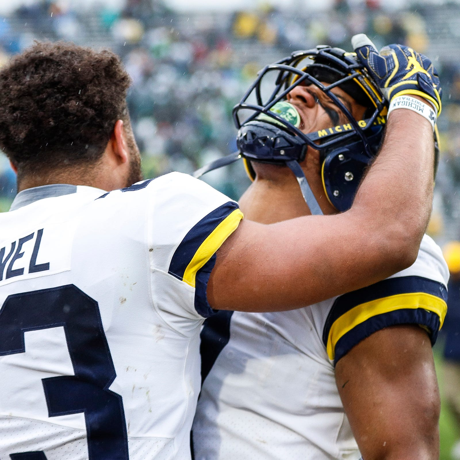 Here's Michigan football's account of pregame fracas with Michigan State