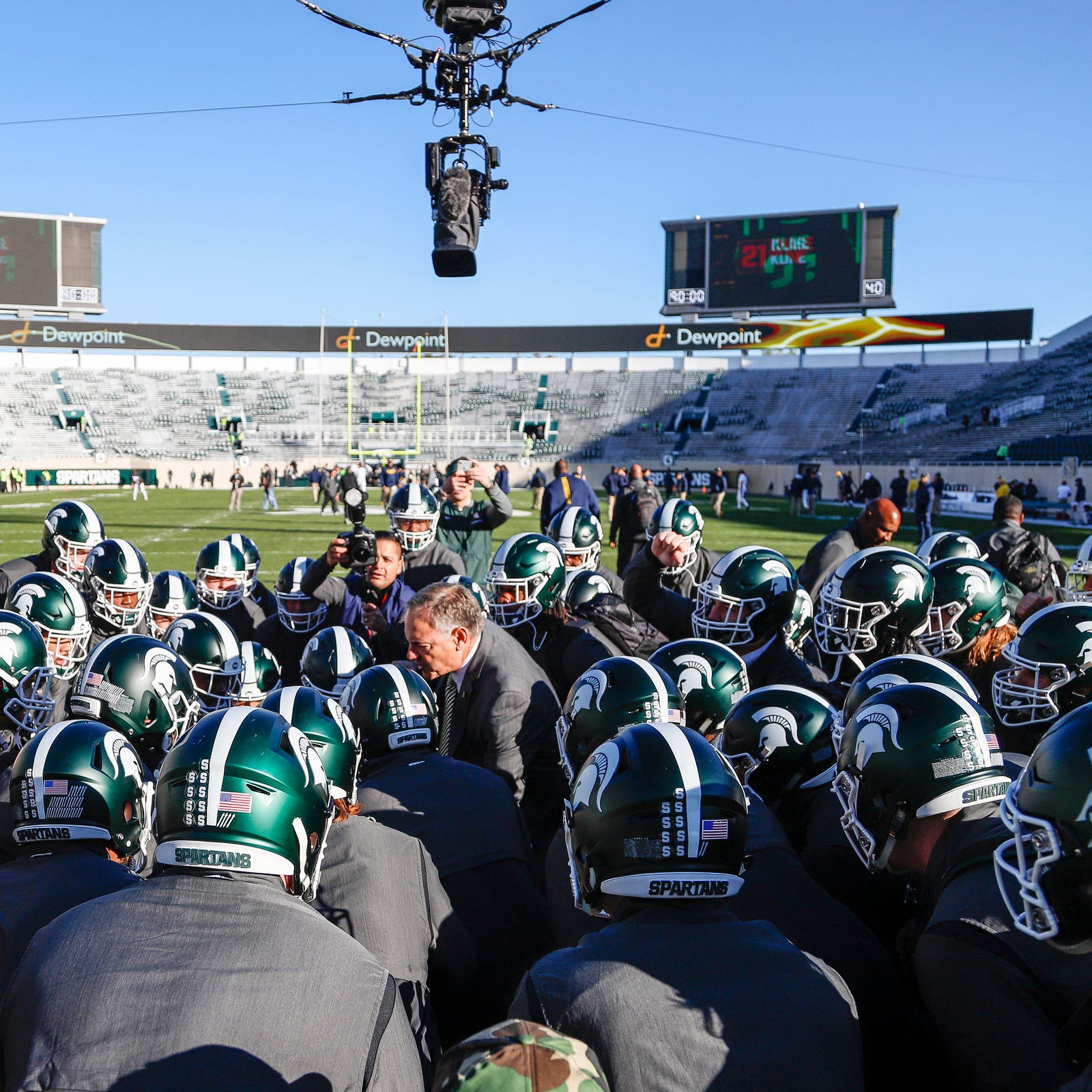 Mark Dantonio: Michigan State needs to make plays in fourth quarter