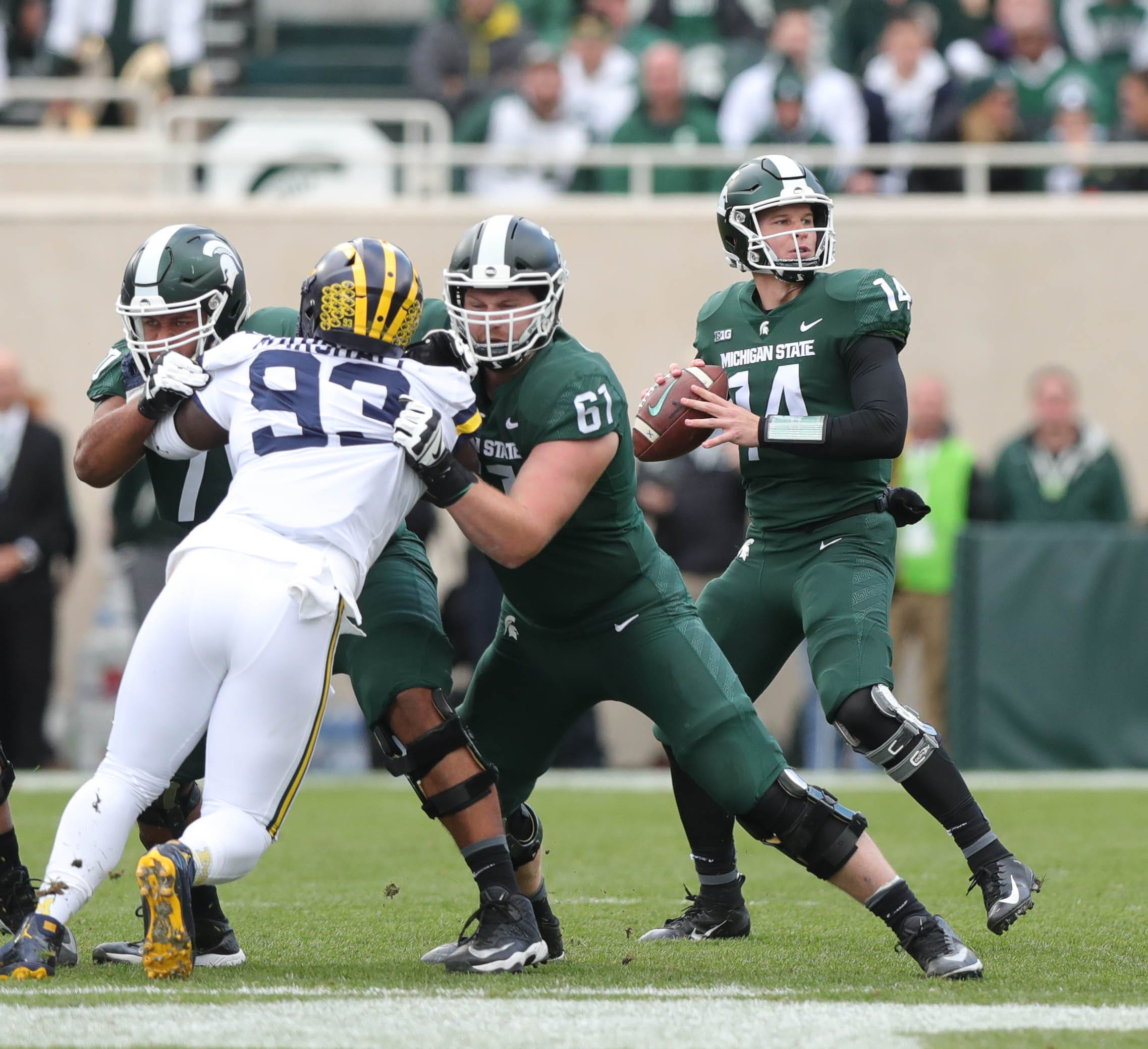 Watch Michigan State run Philly Special trick play for touchdown against Michigan