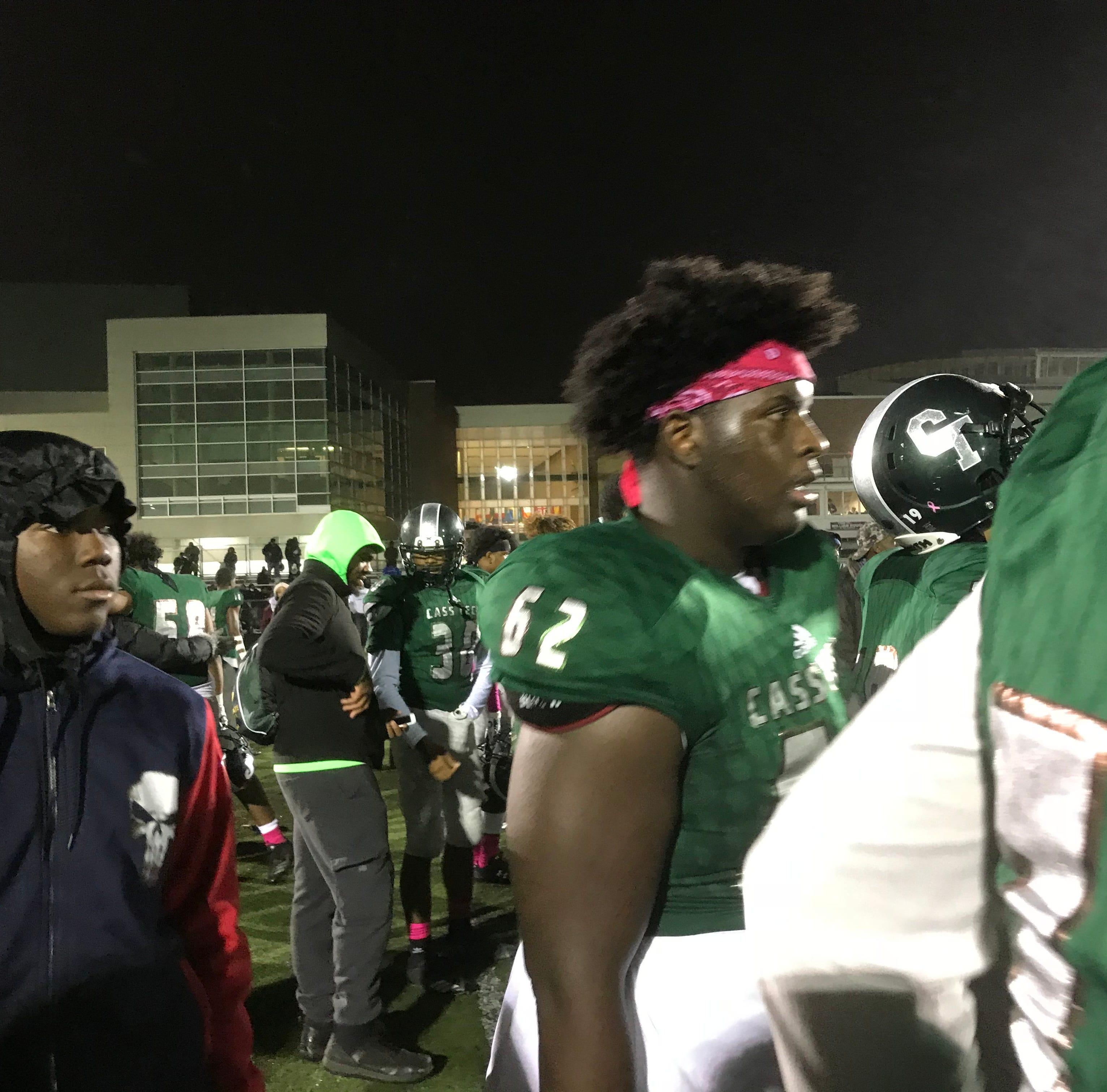 Michigan football has eyes on Cass Tech 2021 center Raheem Anderson II