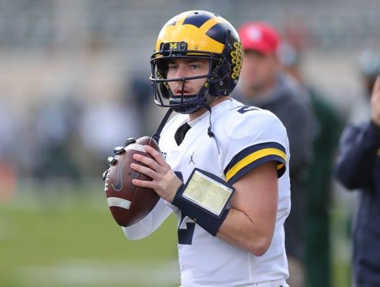 Michigan's Shea Patterson.
