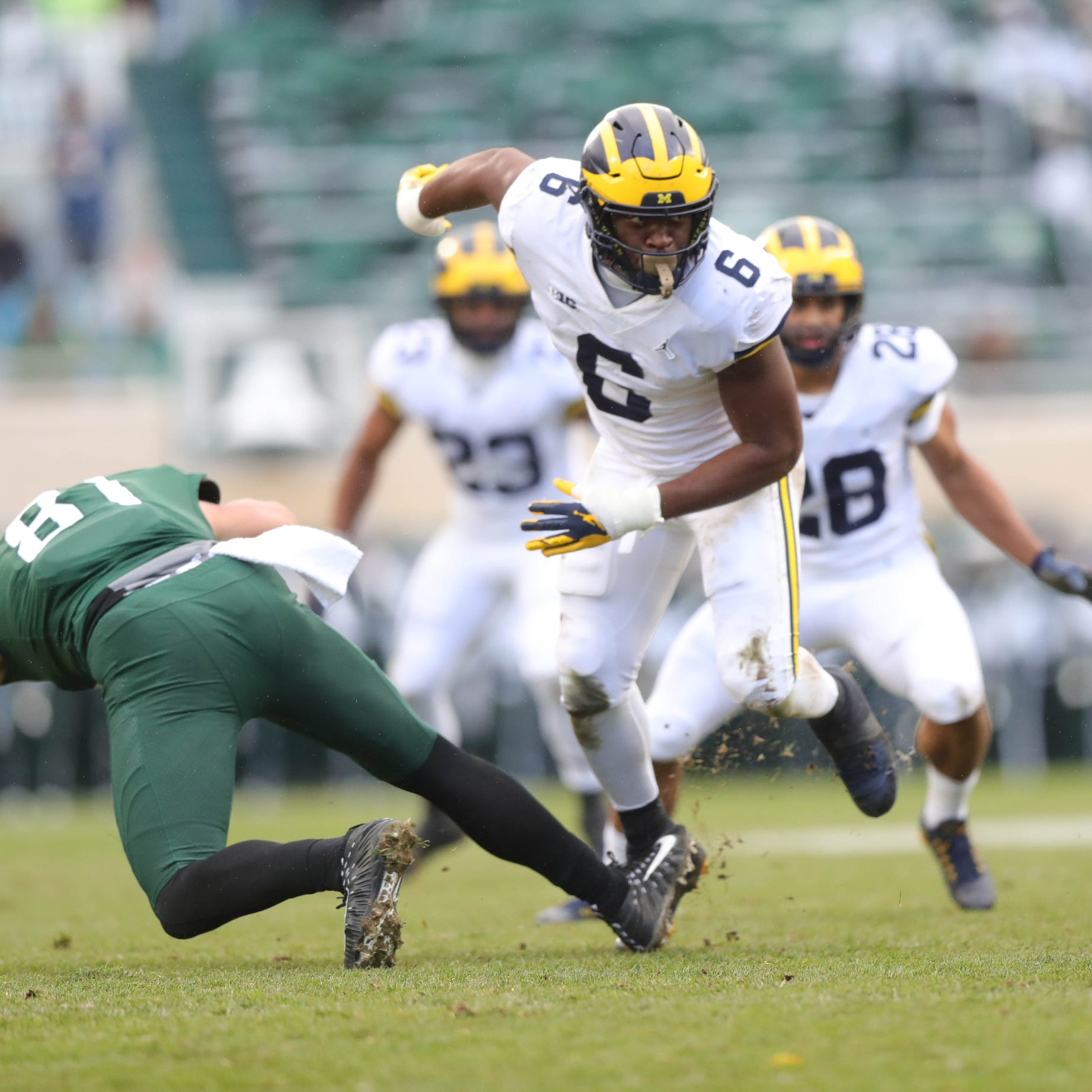 Michigan football cements itself as playoff contender by dominating MSU