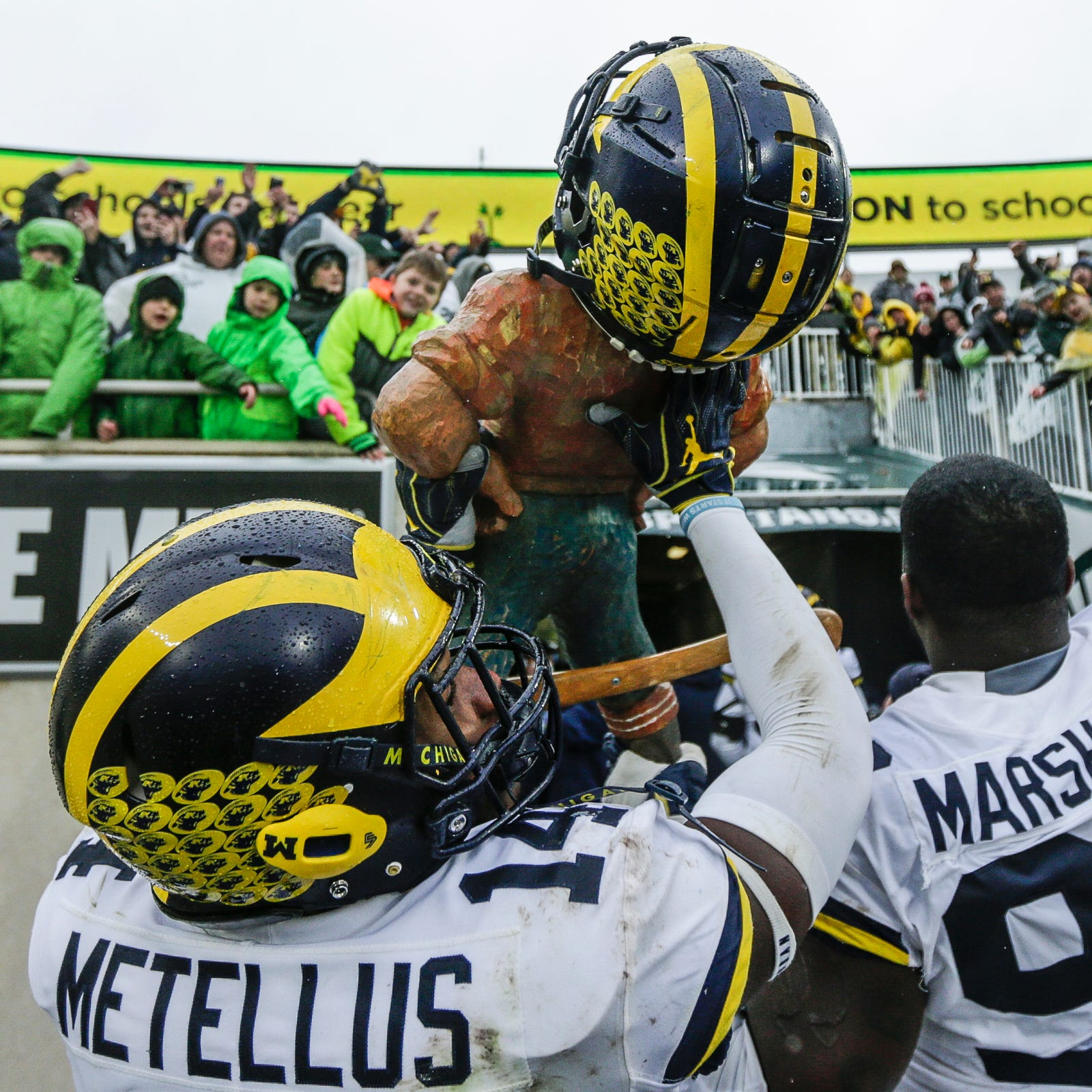 Michigan football trash talks its way back into rivalry with MSU. Finally.