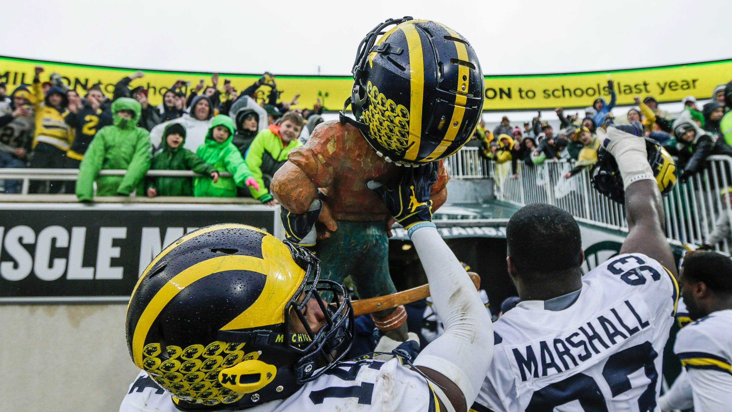 Michigan Football Trash Talks Back Into Msu Rivalry Finally