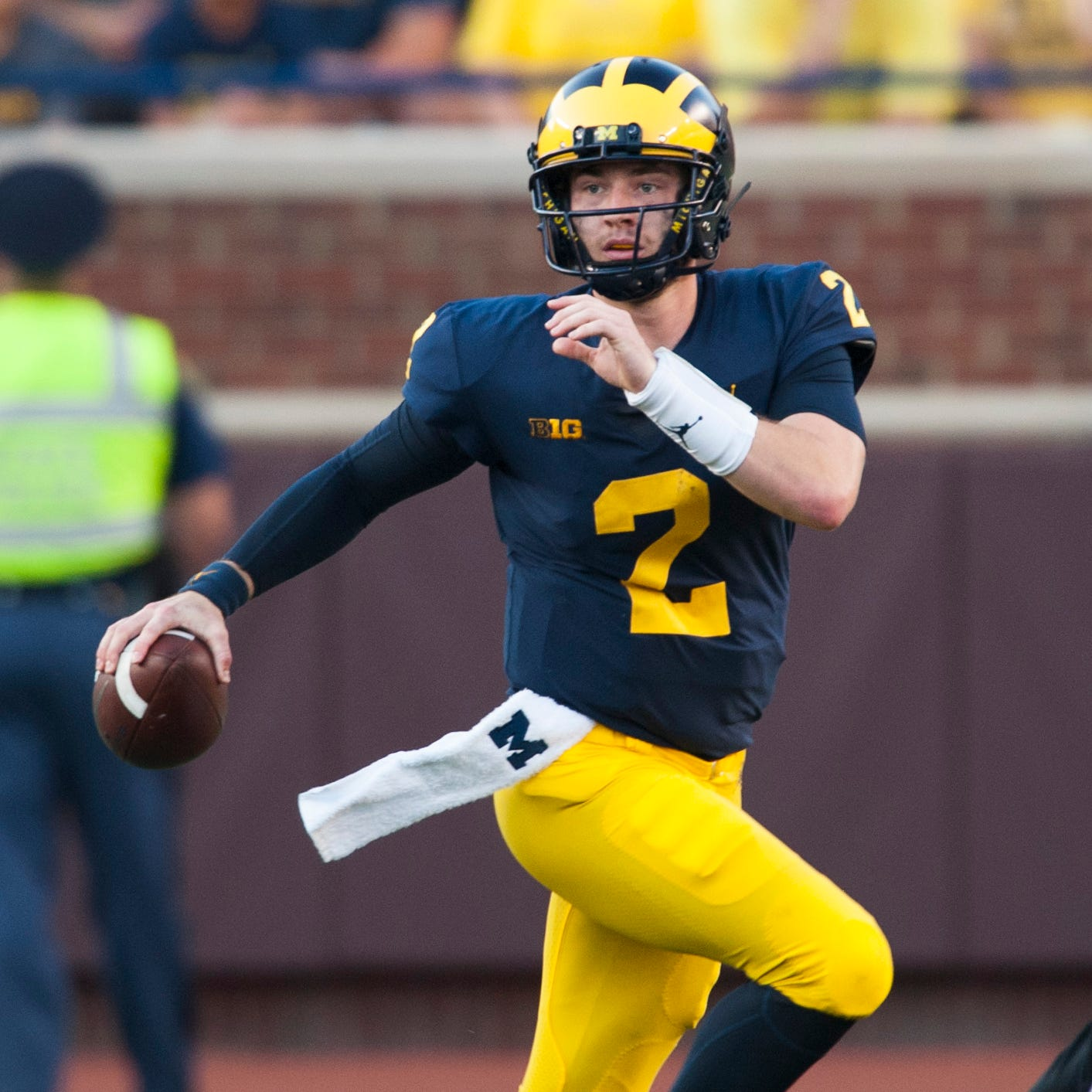 Evolving Patterson learning on the run for Wolverines