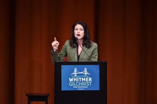 Dana Nessel is Michigan's attorney general. She campaigned at times with Gov. Gretchen Whitmer during the 2018 campaign.