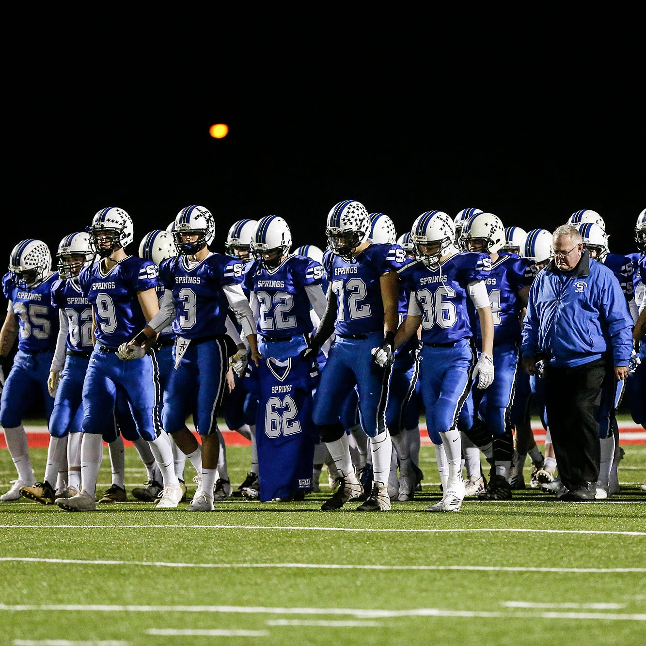 WIAA football: St. Mary's Springs gets emotional win in first round of playoffs