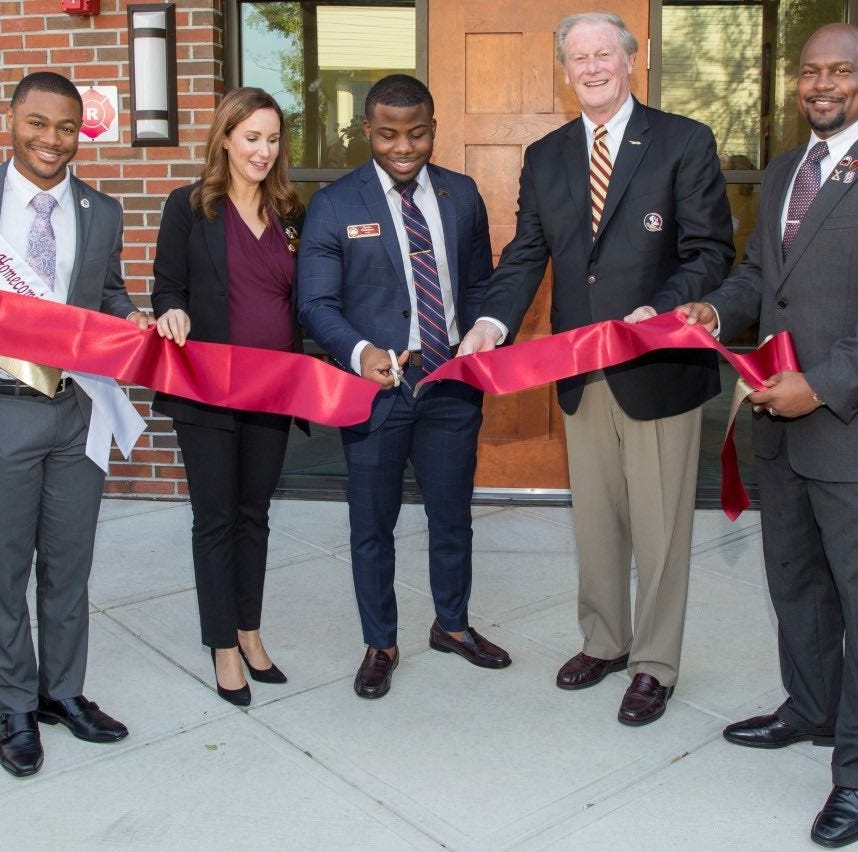 Black Student Union celebrates official opening with ribbon-cutting ceremony