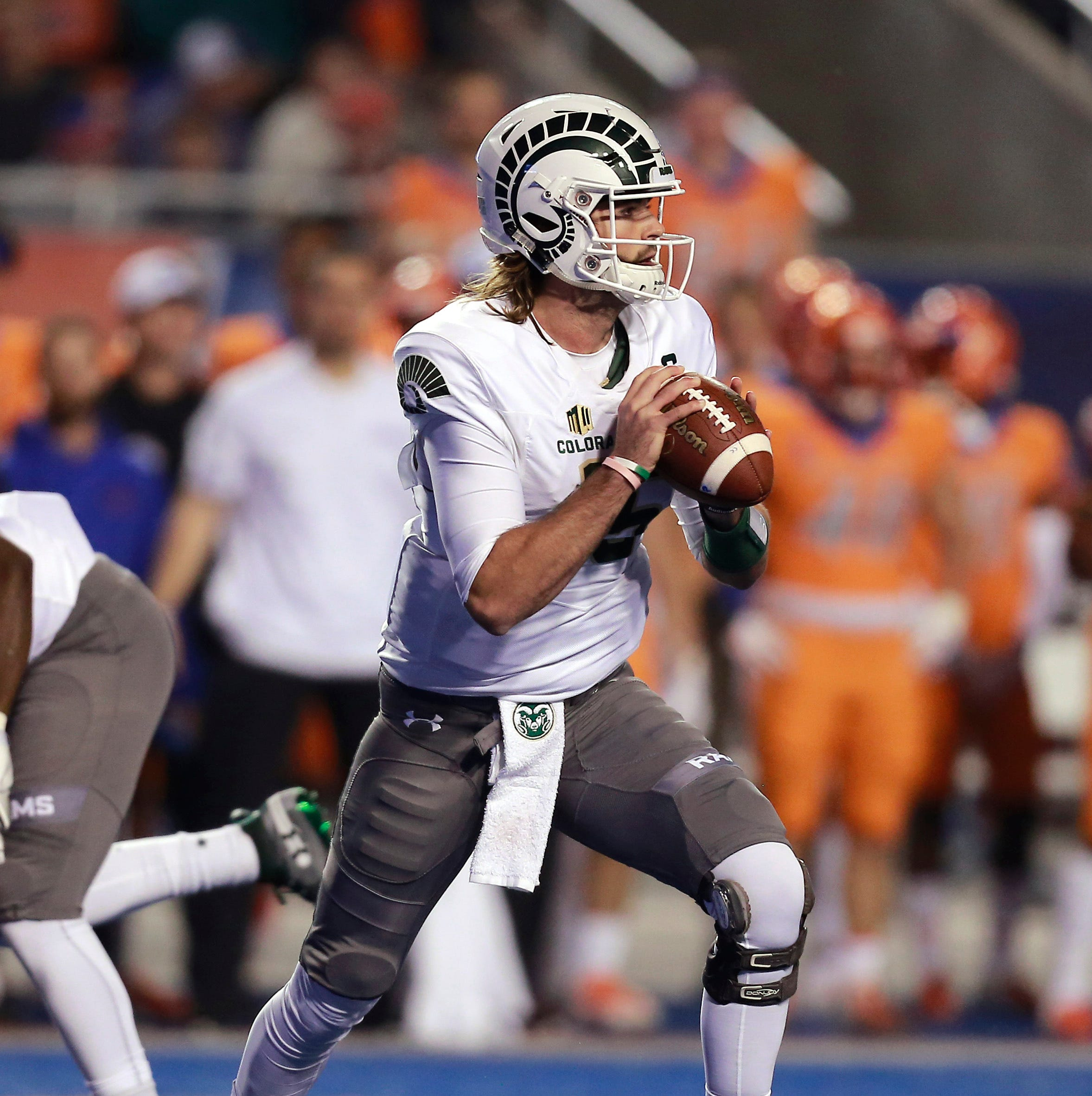CSU football names Collin Hill starting QB for Border War game Friday vs. Wyoming