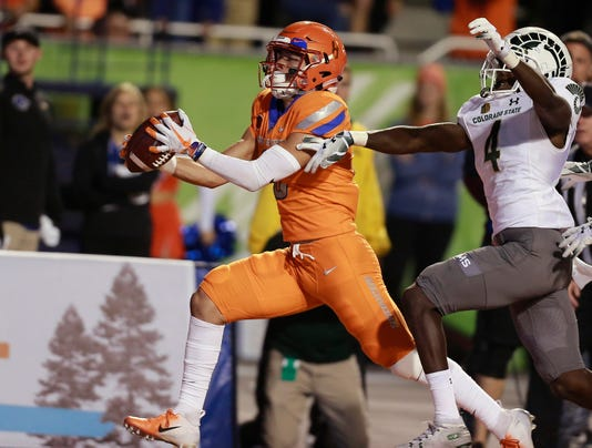 Ncaa Football Colorado State At Boise State