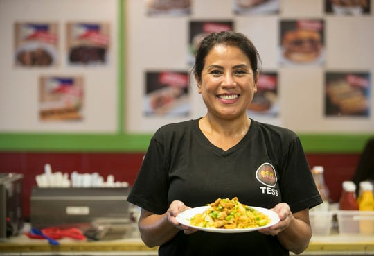 Tess Herbst is the owner of Eat Sarap, a Filipino restaurant, is located inside Flamingo Island Flea Market in Bonita Springs.