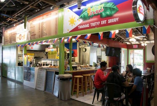 Eat Sarap is a Filipino restaurant located inside Flamingo Island Flea Market in Bonita Springs.