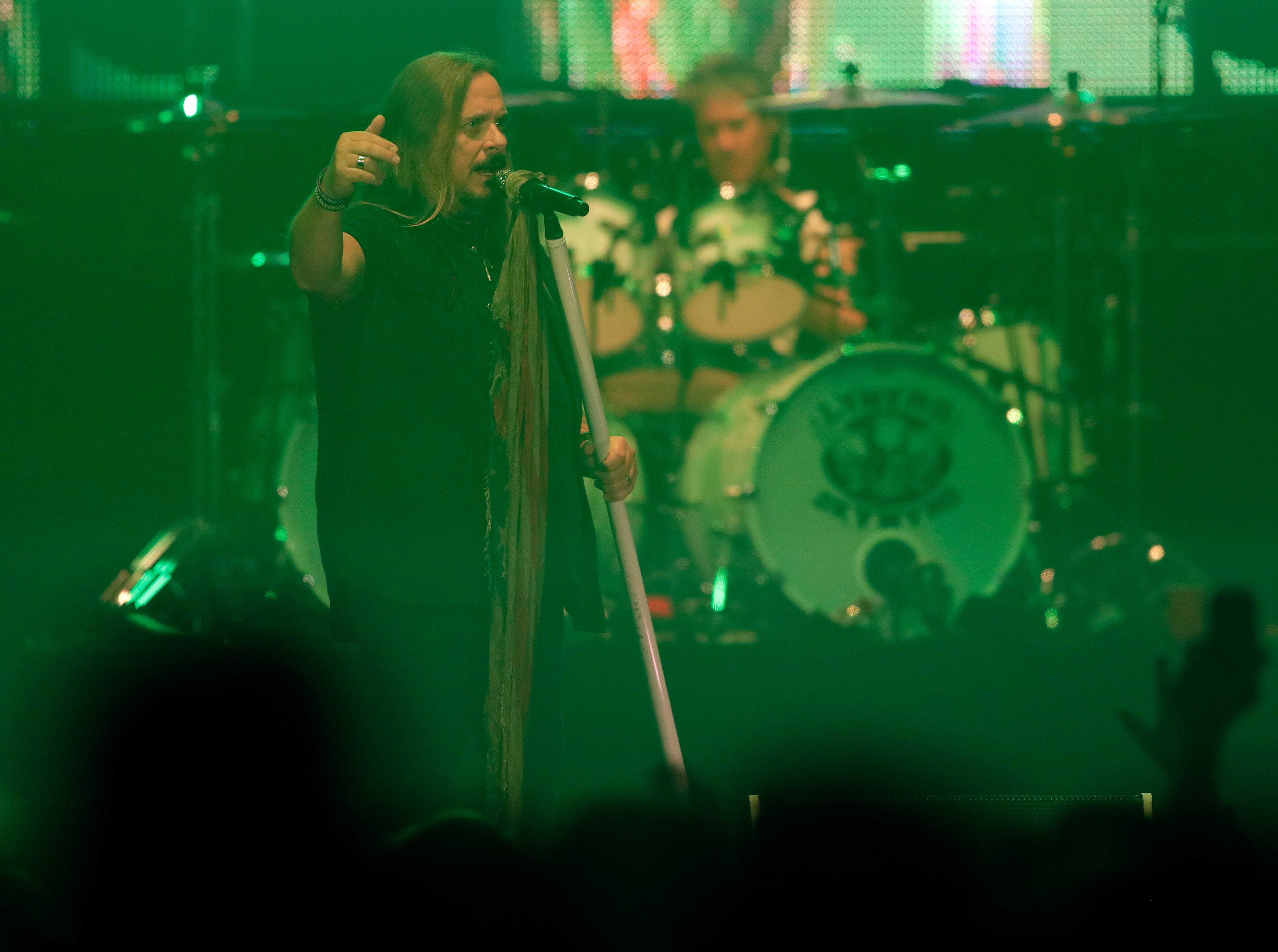 Lynyrd Skynyrd performs Oct. 19, 2018 at the Resch Center in Ashwaubenon, Wis. as part of the southern rock band's Last of the Street Survivors Farewell Tour.