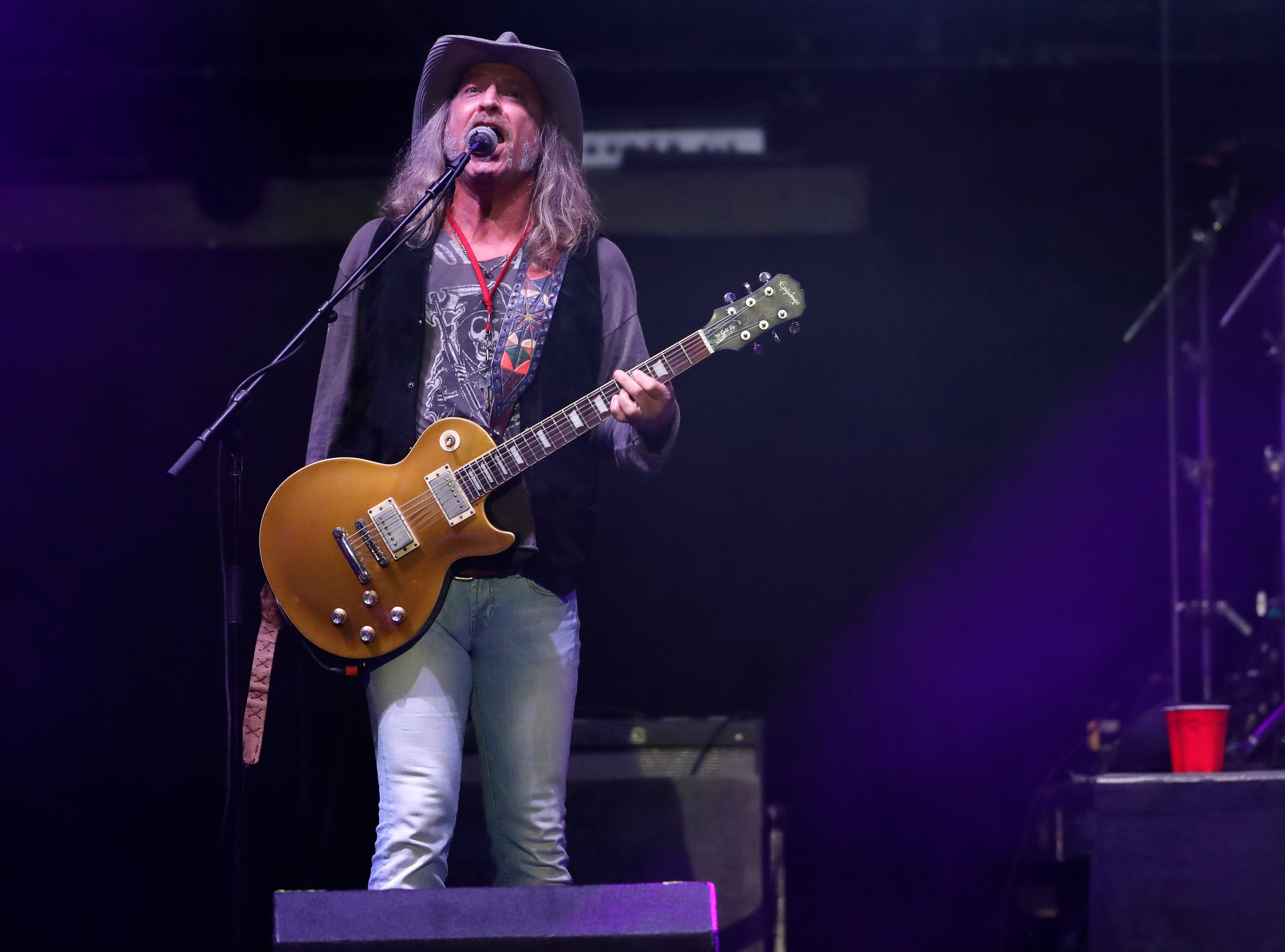 The Marshall Tucker Band performs ahead of  Lynyrd Skynyrd on Oct. 19, 2018 at the Resch Center in Ashwaubenon, Wis.