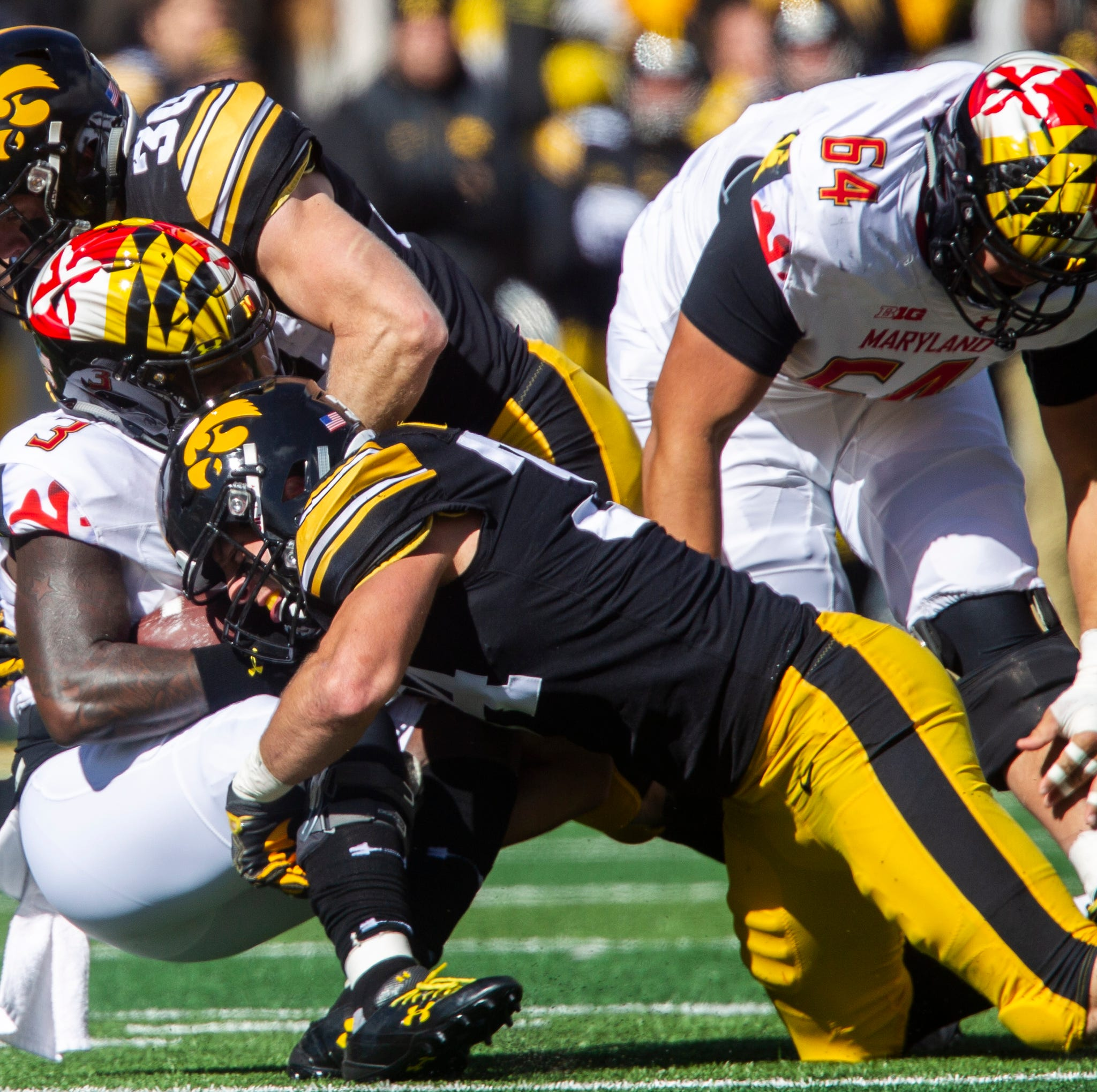 Iowa linebackers face challenging new path to playing time