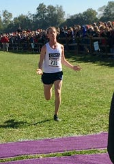 FILE -- State cross-country champ Cole Hocker of Cathedral also won in the City track meet.