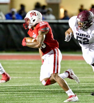 Deon McIntosh scored twice and recorded his fourth straight 100-yard rushing performance with 146 yards on 17 carries as No. 1 East Mississippi blanked Coahoma 47-0  Thursday night.