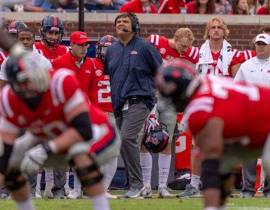 Ncaa Football Auburn At Mississippi