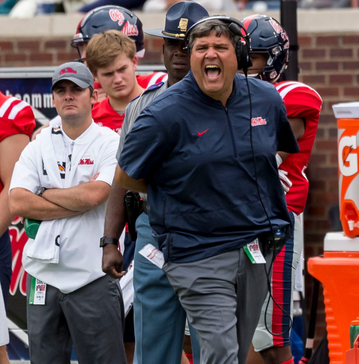 What Ole Miss coach Matt Luke said after the Rebels' 31-16 loss versus Auburn on Saturday