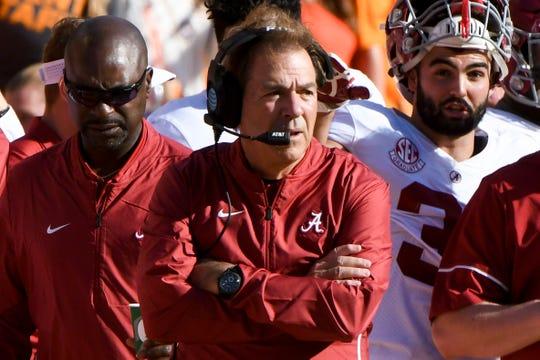 Alabama coach Nick Saban doesn't like when former assistants who take head coaching jobs raid his staff.