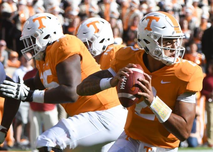 UT Vols: Tennessee football QB Jarrett Guarantano