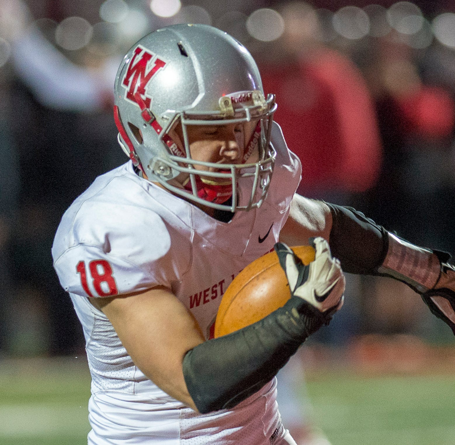 Sage Hood rushed for five touchdowns in West Lafayette's sectional victory at Calumet.