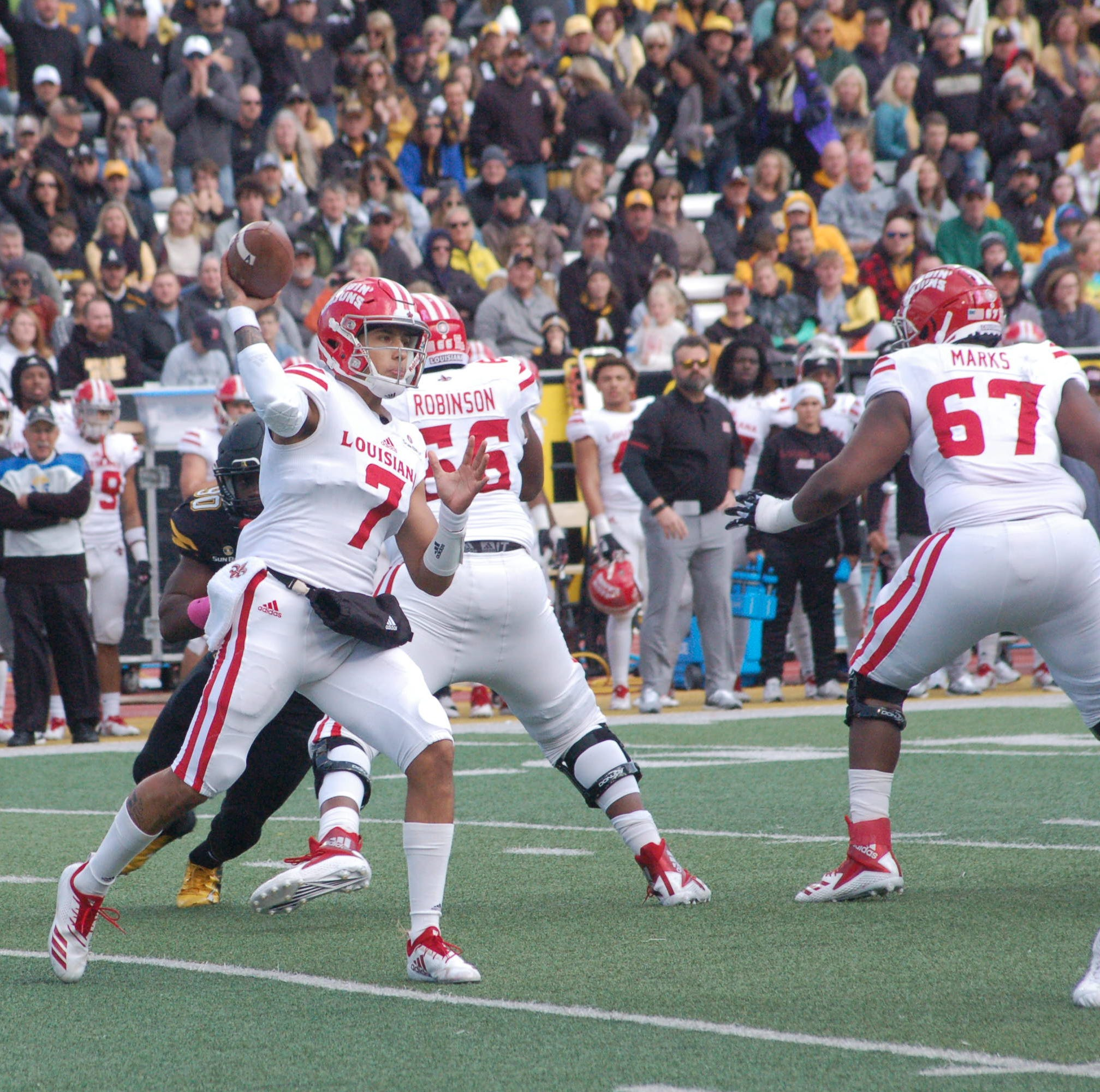 Cajuns give spirited effort vs. App State but fall short