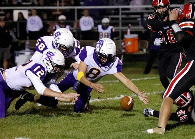 Bloom-Carroll did its part by beating Fairfield Union last week and a win this week would give the Bulldogs a share of the Mid-State League-Buckeye Division championship. It would mark the first league title in 24 years for the Bulldogs, who have already clinched a playoff berth.