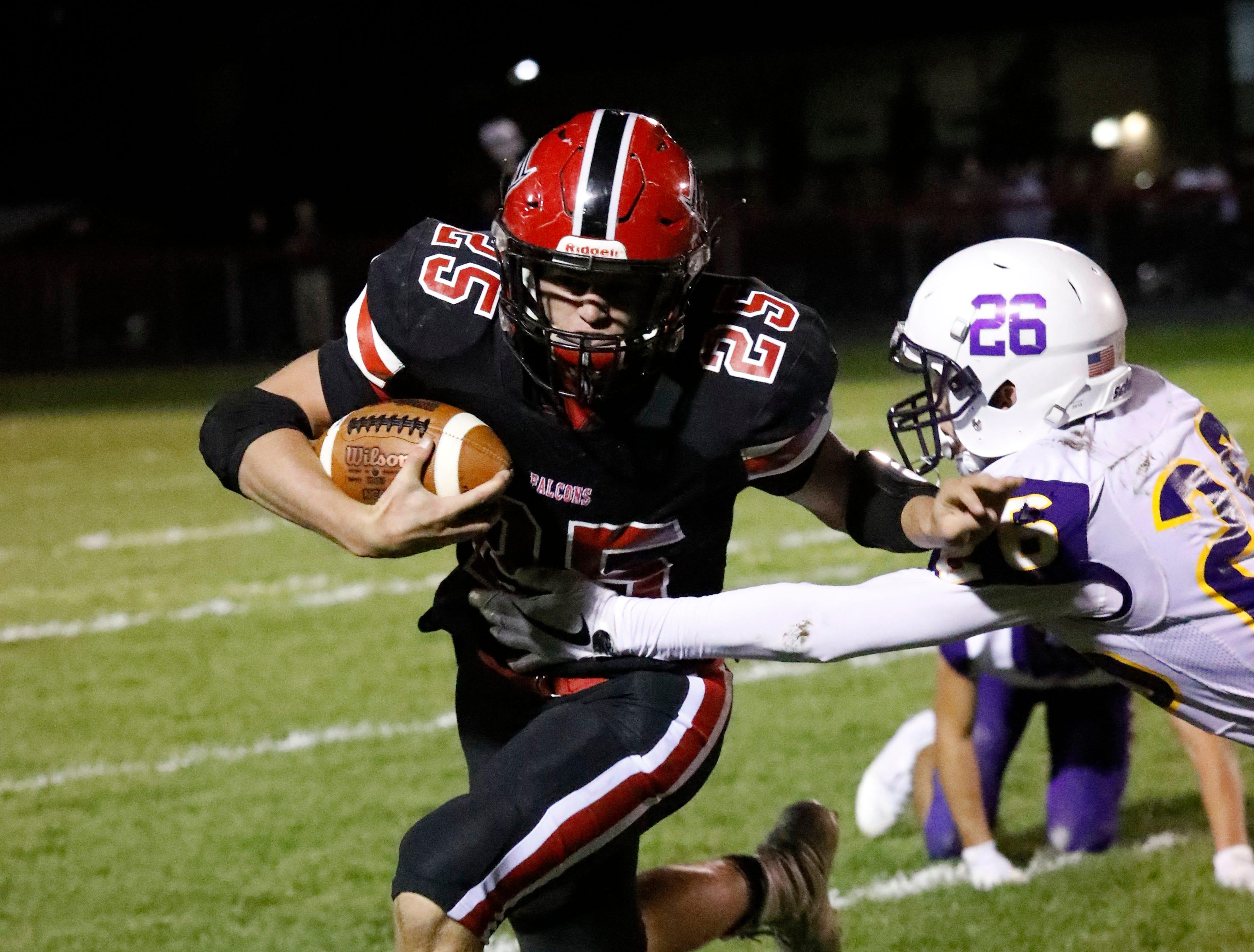 Bloom-Carroll defeated Fairfield Union 44-7 Friday night, Oct. 19, 2018, at Fairfield Union High School in Rushville.