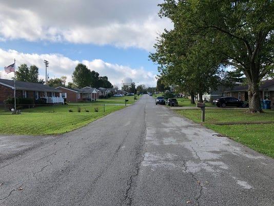 Lawrenceburg street suspect Dylan jarrell