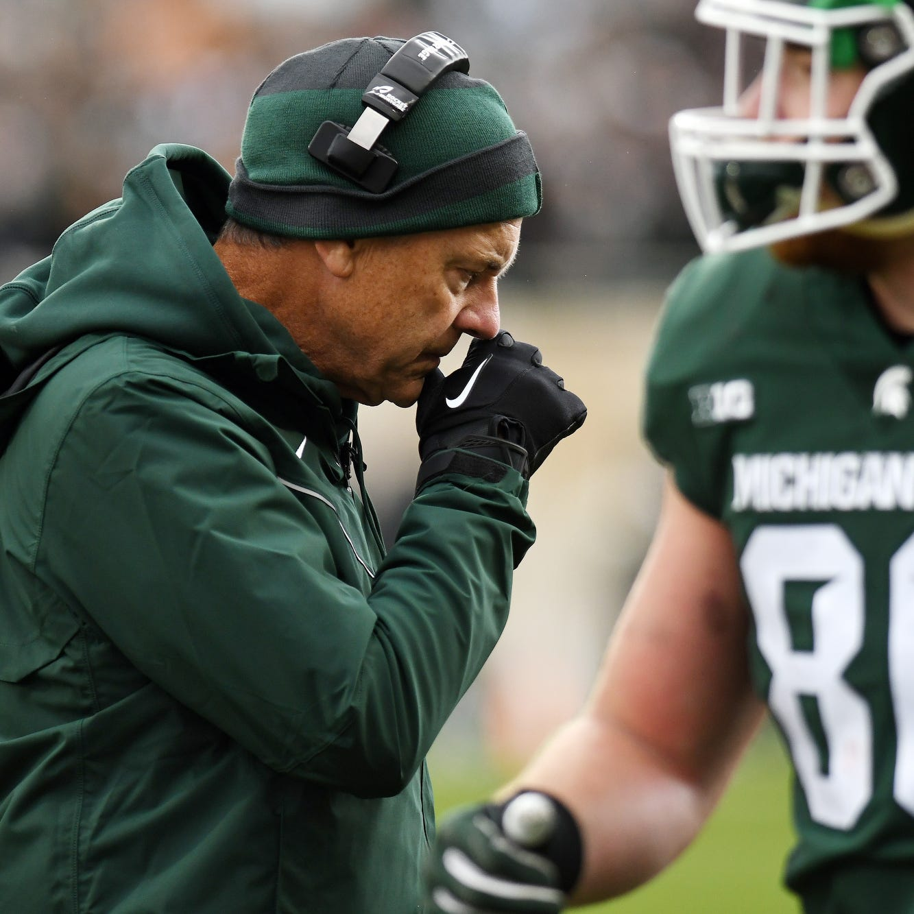 Grading Michigan State's performance against Michigan