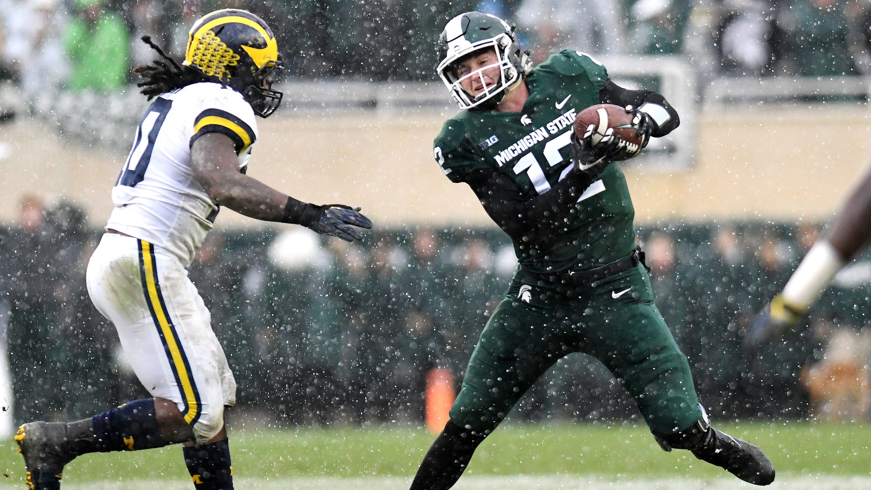 michigan state s rocky lombardi comes from a football family