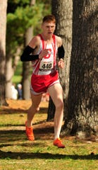 Shelby's Caleb Brown has been named Gatorade's Ohio Boys Cross Country Runner of the Year