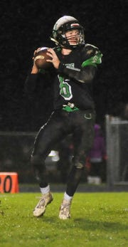 Jared Schaefer totaled 182 yards of total offense and a touchdown against Bryan.