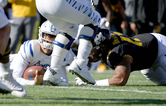 Ncaa Football Memphis At Missouri