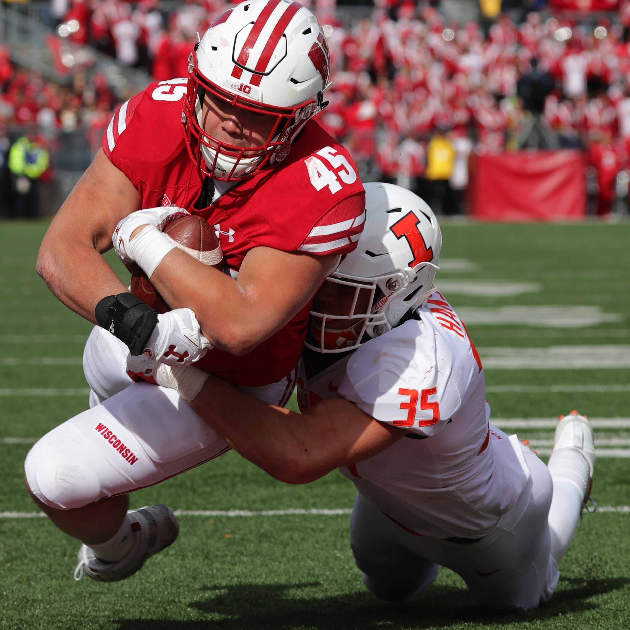 UW 49, Illinois 20:  Badgers' performance has flaws but proves more than good enough