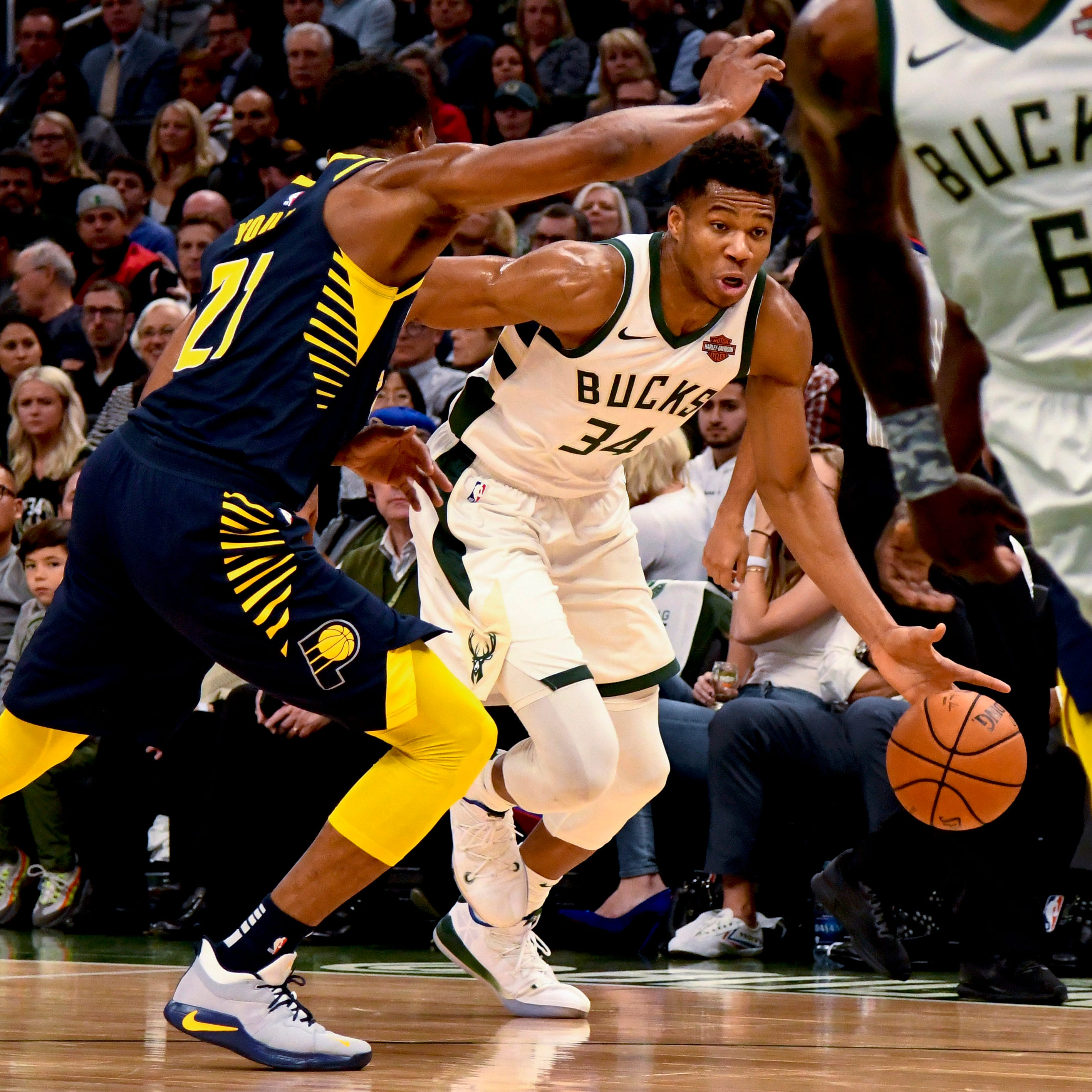 Bucks 118, Pacers 101:  The long wait ends with a victory at Fiserv Forum