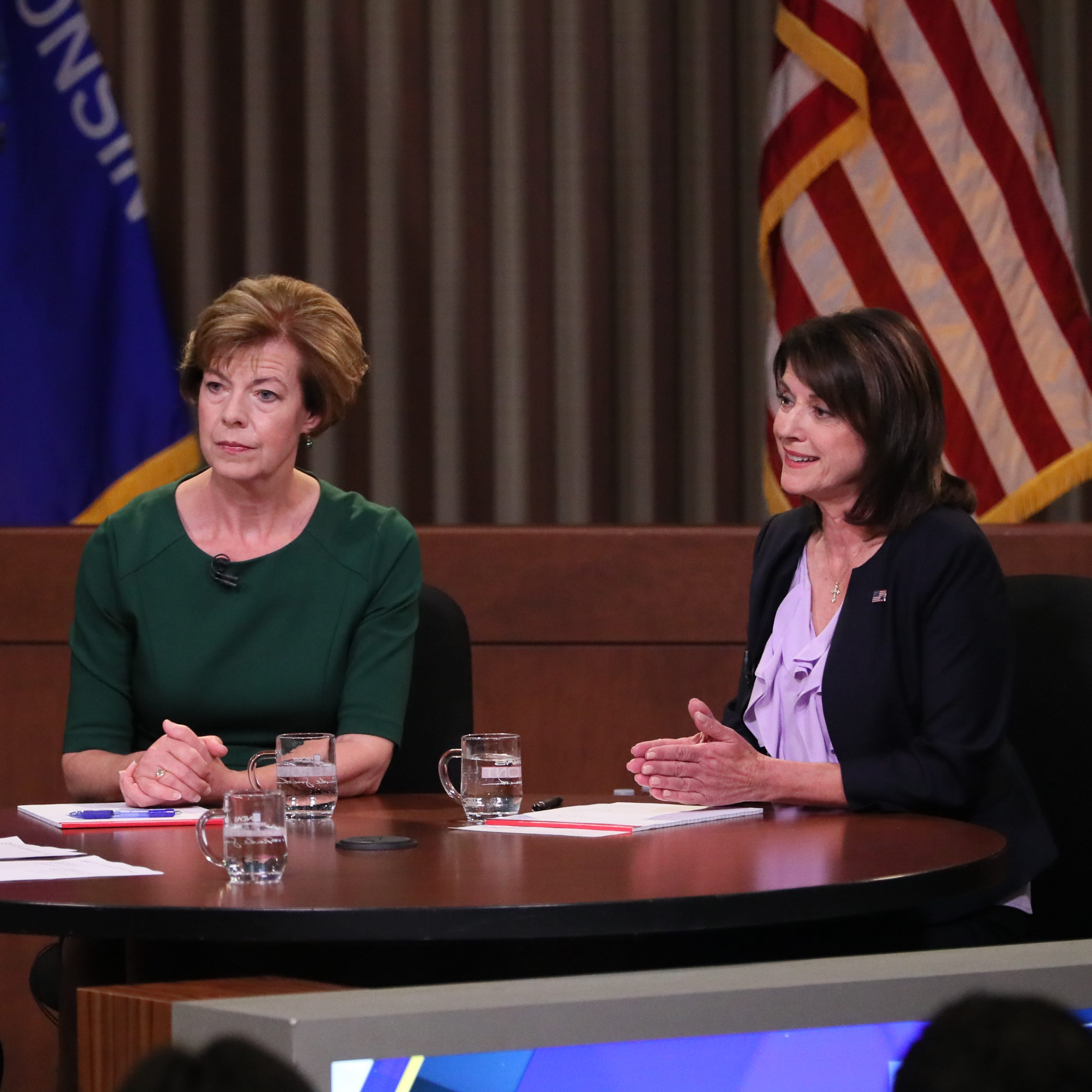 Wisconsin U.S. Senate: Leah Vukmir, Tammy Baldwin clash on health care, Tomah VA in final debate