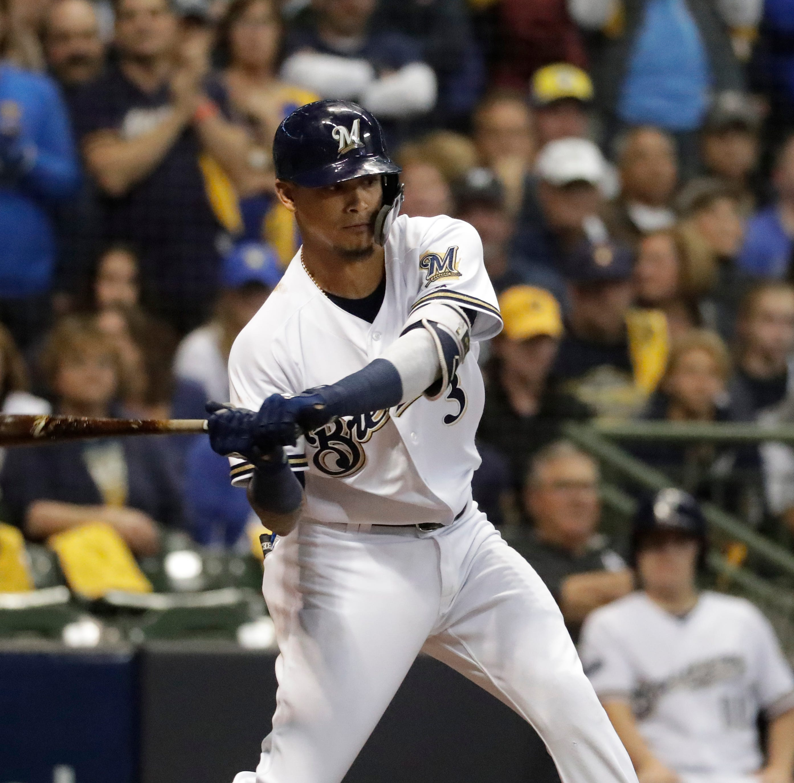 Notes: Orlando Arcia's resurgence at plate was one of best parts of Brewers' late burst