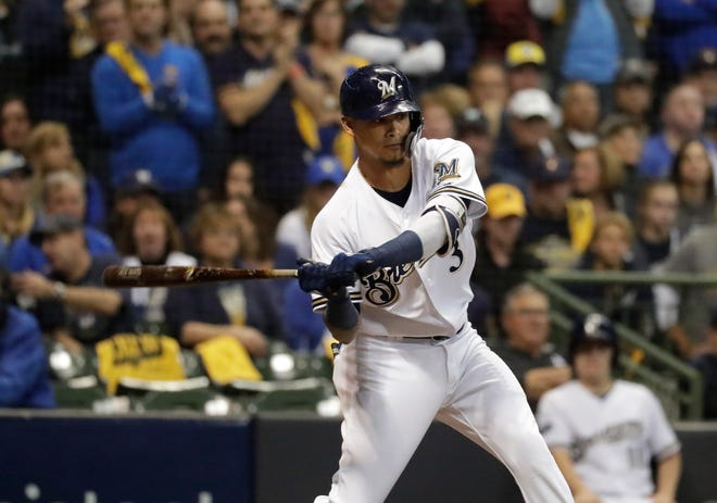 After struggling and being sent to Class AAA Colorado Springs twice earlier in the season, Brewers shortstop Orlando Arcia bounced back in a big way down the stretch and in the playoffs.