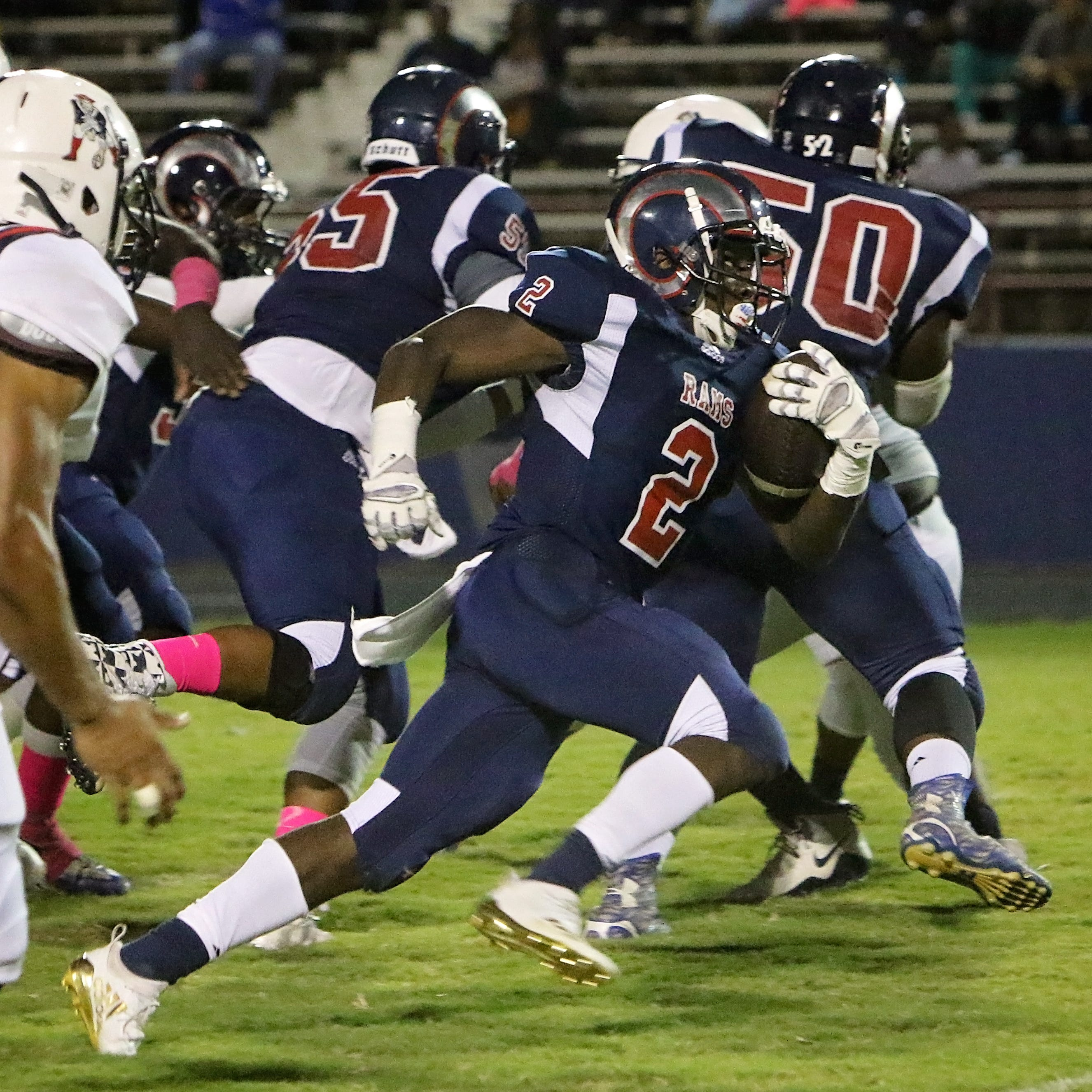 The Franklin Parish Patriots travelled to Bastrop to take on the Rams Friday night, October 19 in Bastrop, La.
