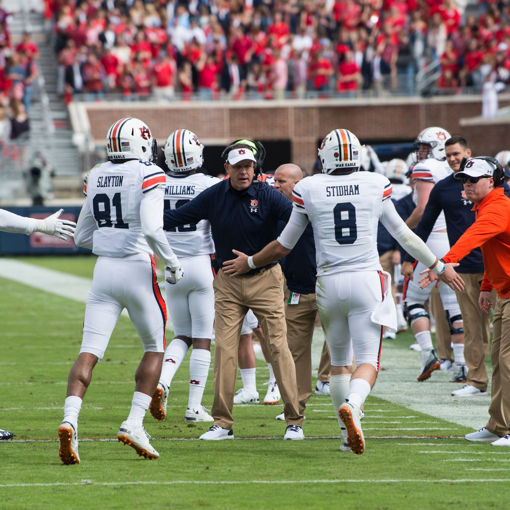 Gus Malzahn fights for players as Auburn overcomes 'storm' of negativity to win at Ole Miss