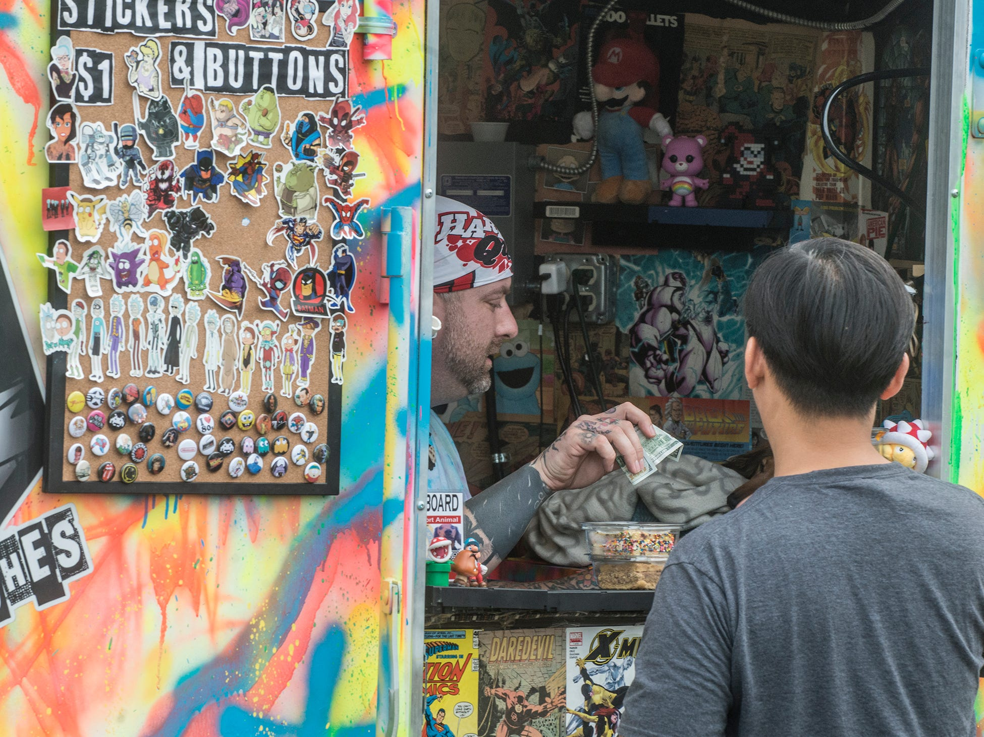 Underground Cookie Club: Food Truck Mash-Up returned to Riverwalk Stadium on Saturday, Oct. 20, 2018, bringing a variety of food trucks, music and games for guests to enjoy.