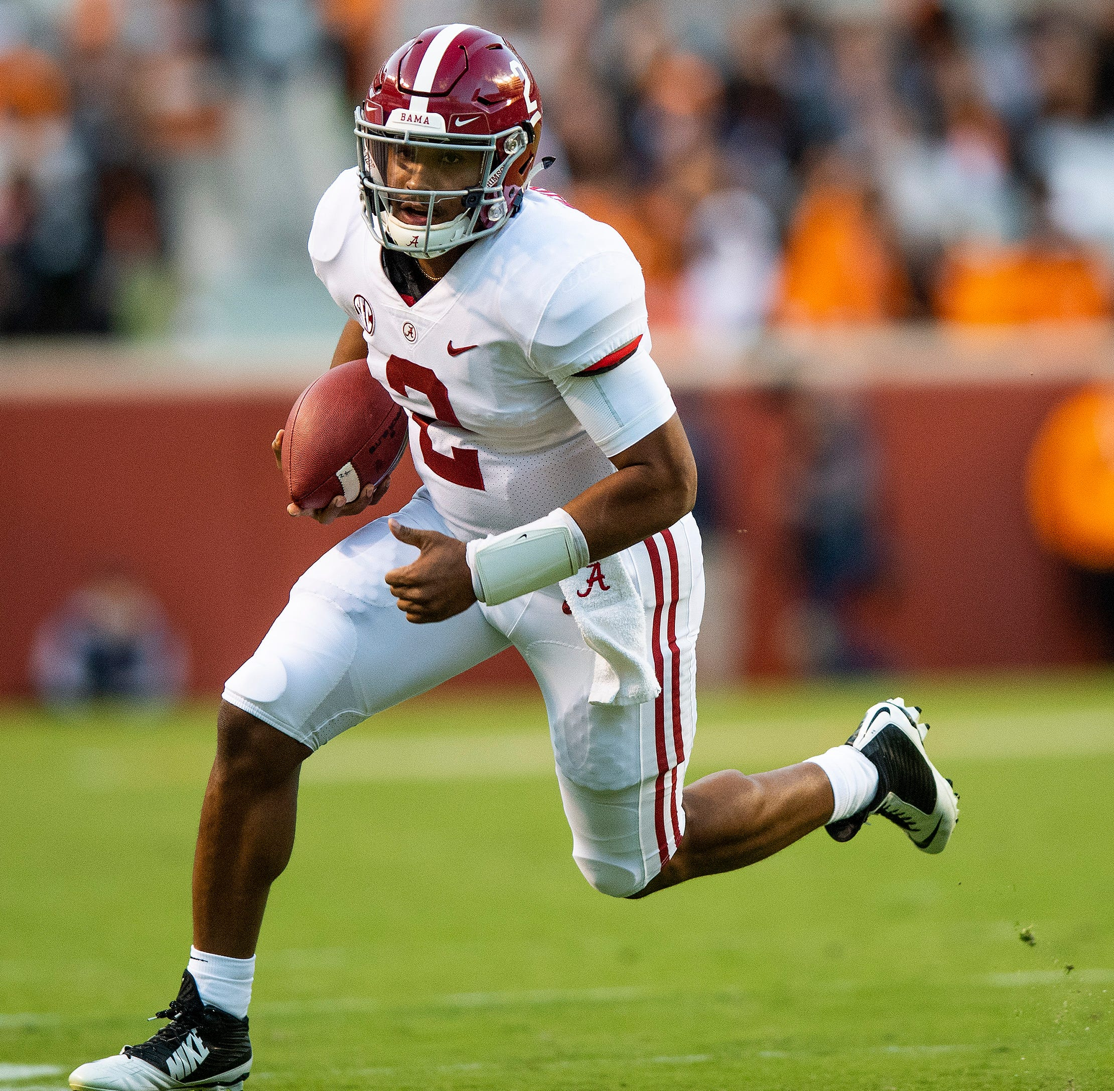 Alabama's Hurts out at least a week after 'minor' ankle procedure