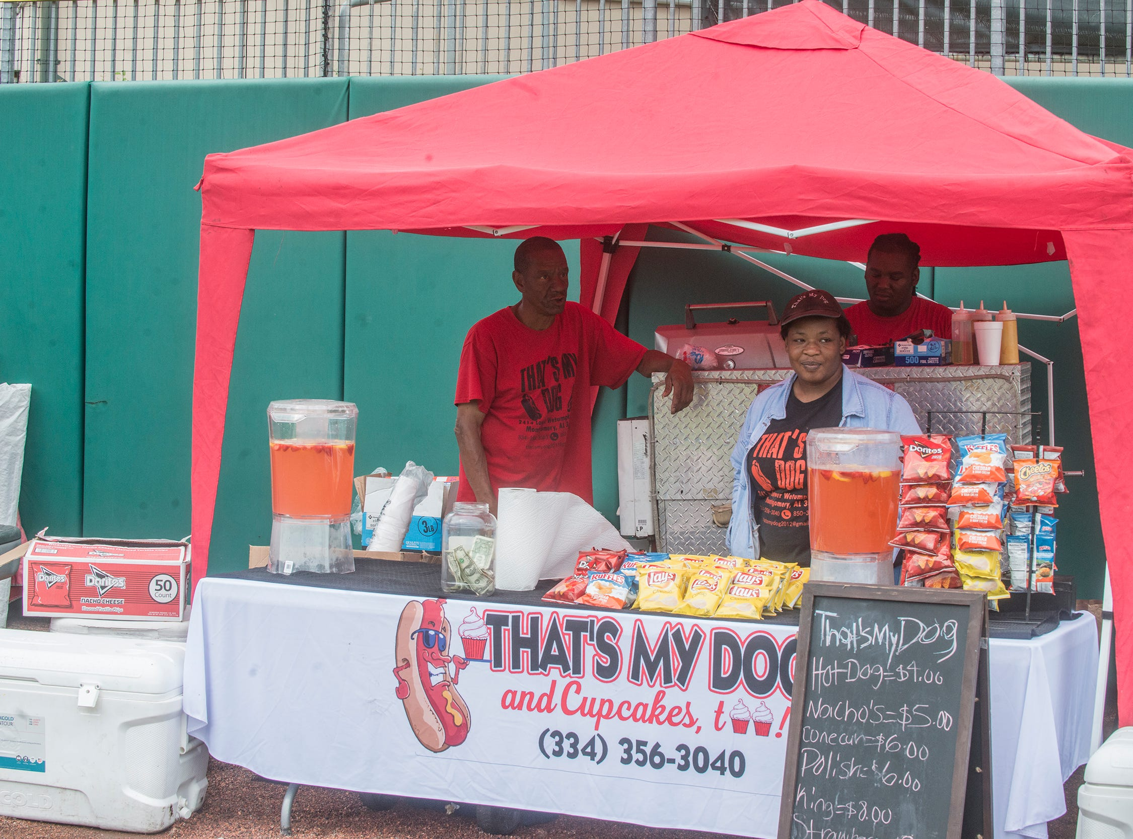That's My Dog; Food Truck Mash-Up returned to Riverwalk Stadium on Saturday, Oct. 20, 2018, bringing a variety of food trucks, music and games for guests to enjoy.