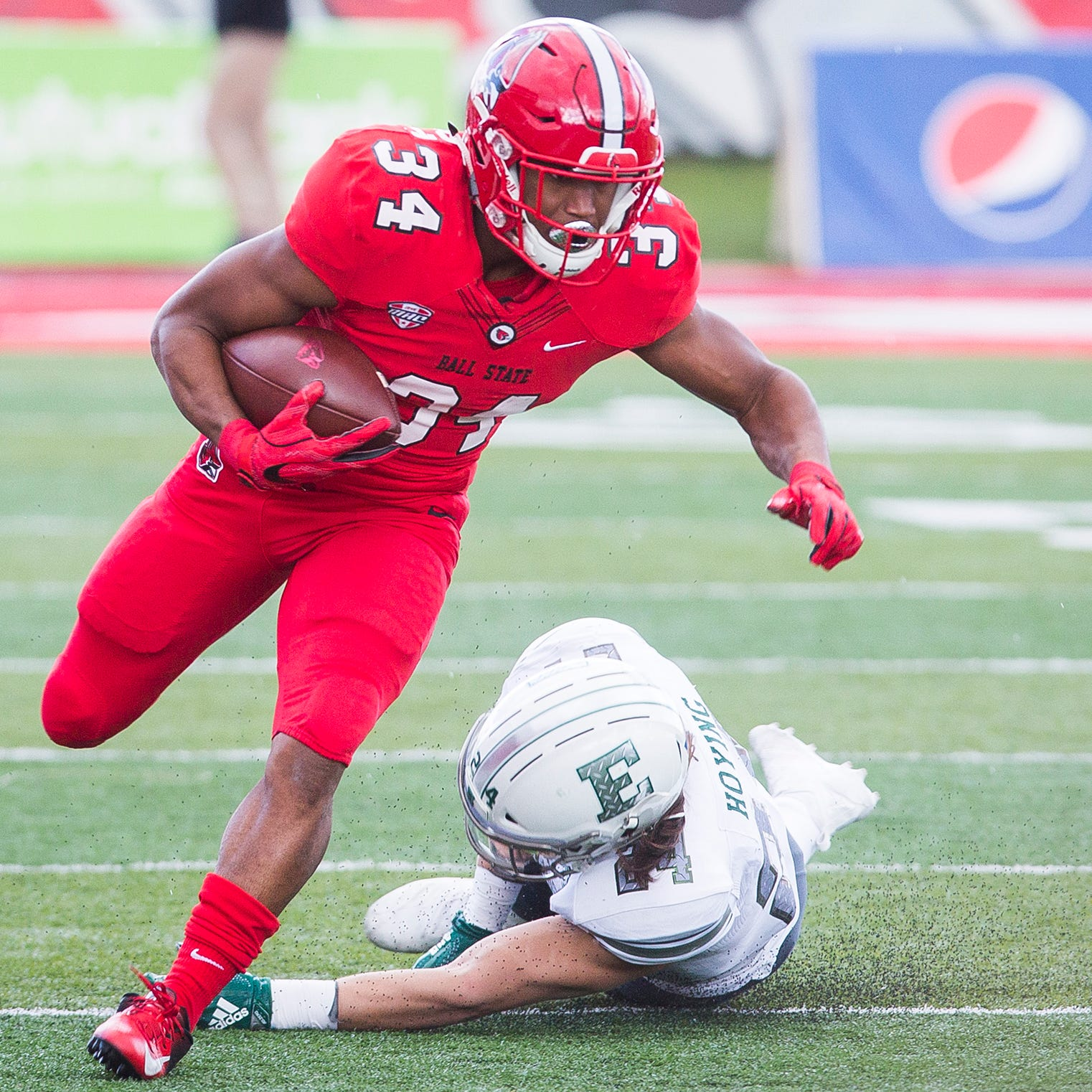 Ball State football: James Gilbert back for Western Michigan but no longer the starter