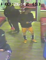 Nashville police released this surveillance image of a person of interest in a fatal shooting this week at an Antioch IHOP.