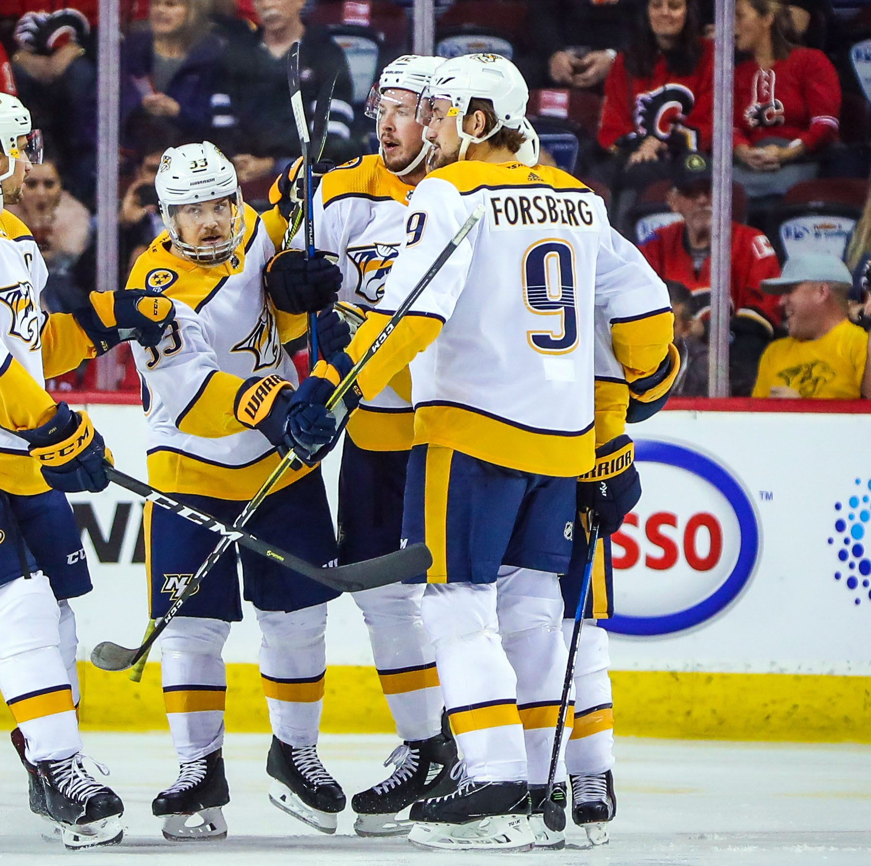 Friday's recap: Predators 5, Flames 3